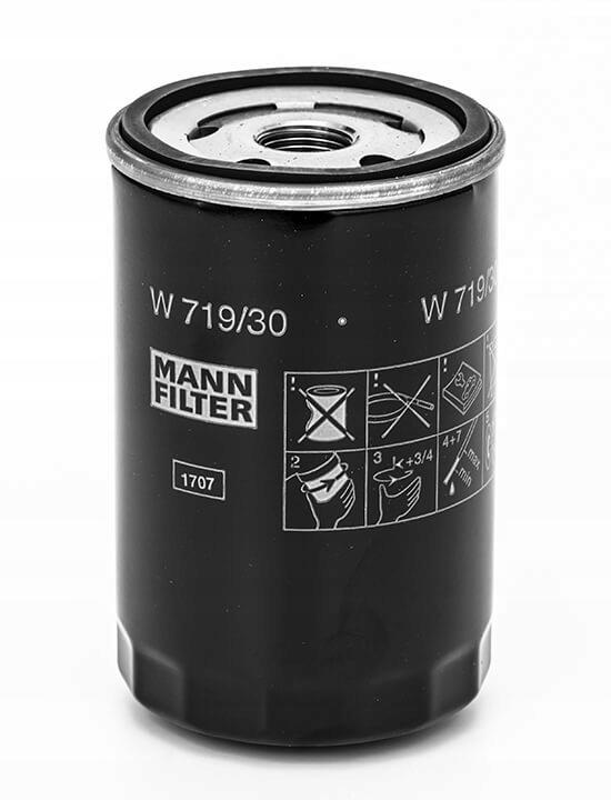 фильтр масла mann-filter w 71930 audi vw seat