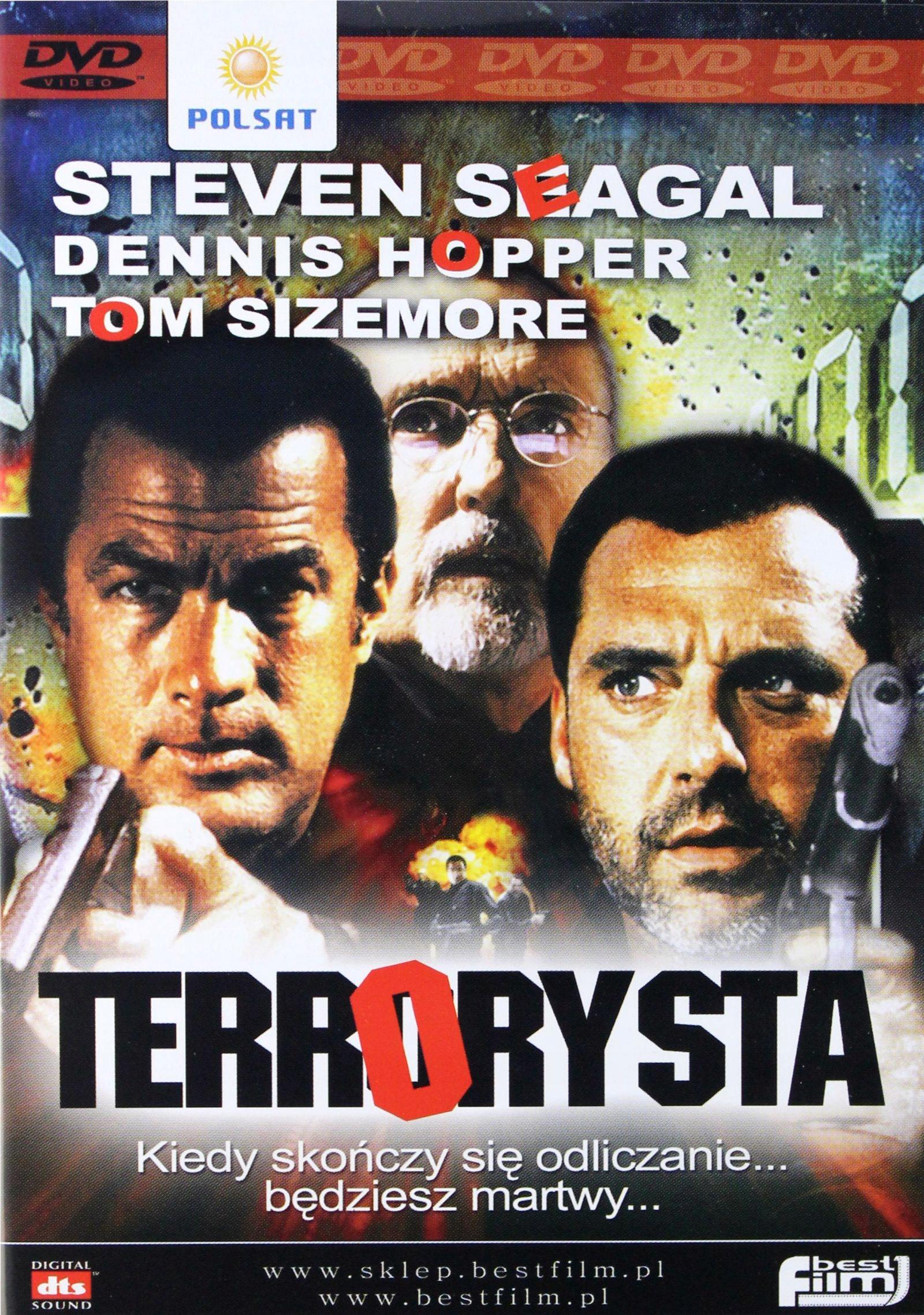 Terrorysta [Steven Seagal] polski Lektor [DVD]