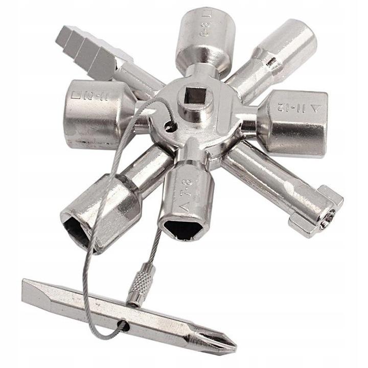 Универсальный ключ 10в1 для электрических шкафов PRO