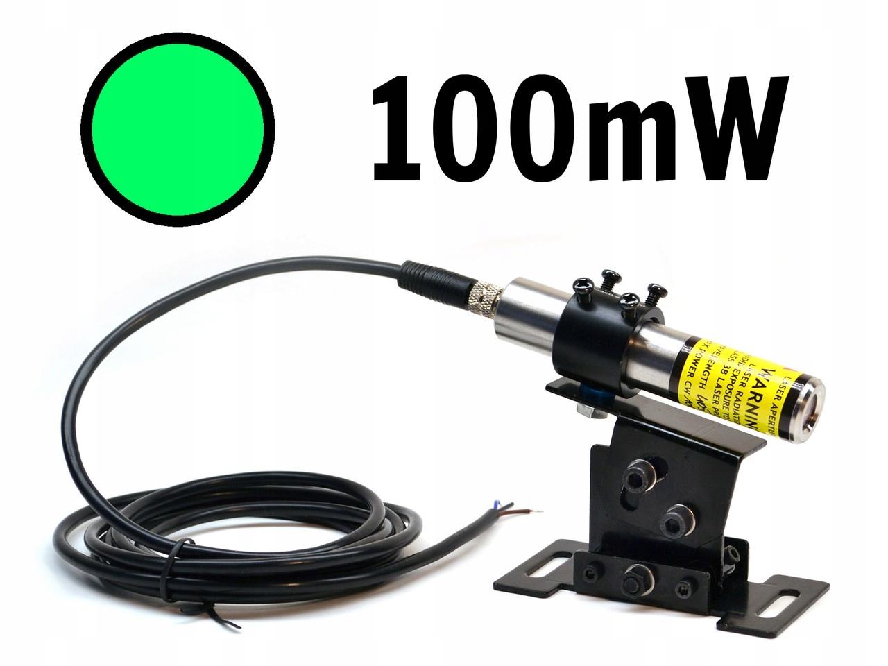 Lineárna zelená 100mw IP67 520NM Lambdawave