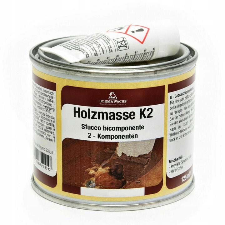 Шпаклевка для дерева / Holzmasse K2 / 750мл / СОСНА