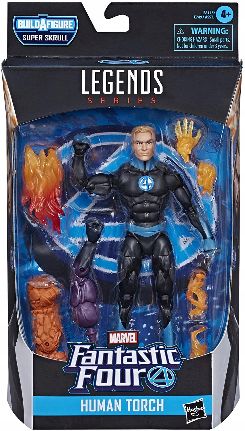 Legends FantasticFour Marvels Invisible HumanTorch