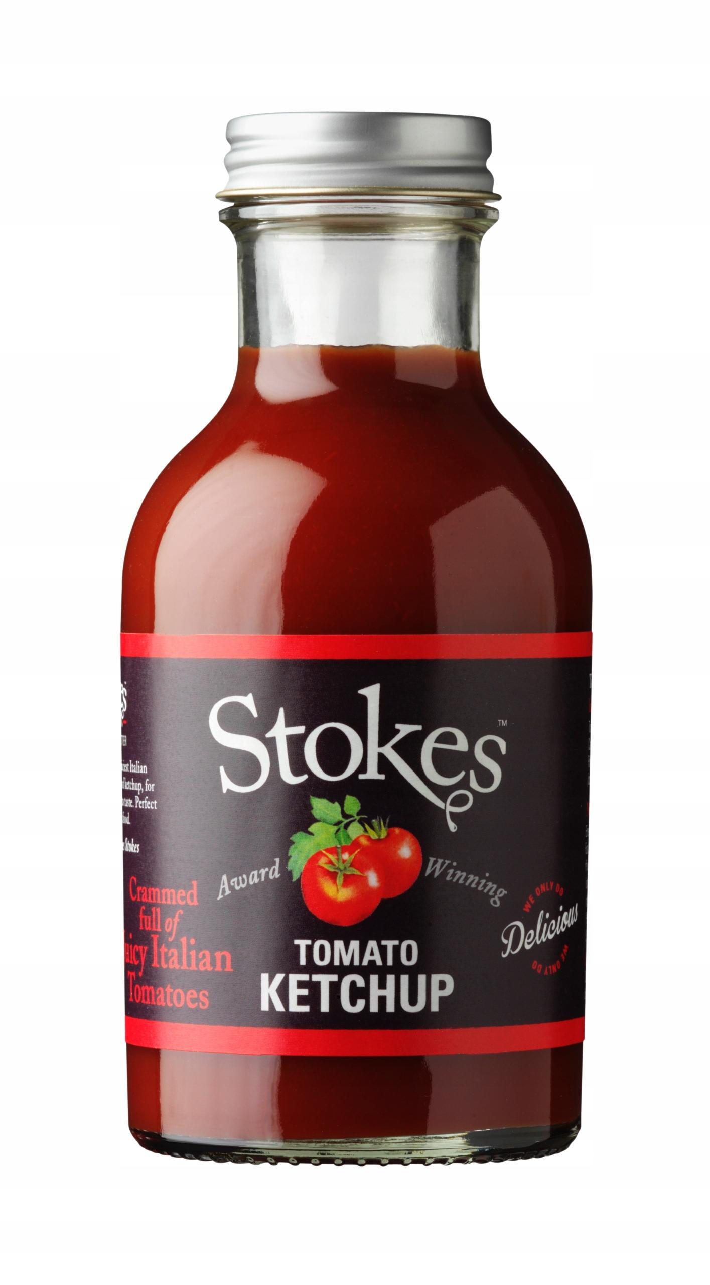 Stokes - prawdziwy ketchup z pomidorów