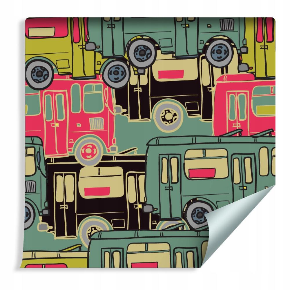 Farebné nástenné tapety pre chlapcov v izbe