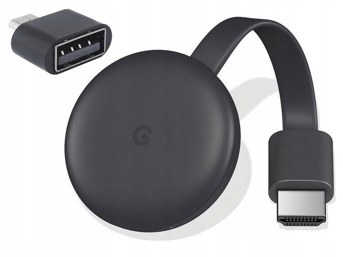 Najnowszy CHROMECAST 3 SMART TV HDMI 2019 i GRATIS