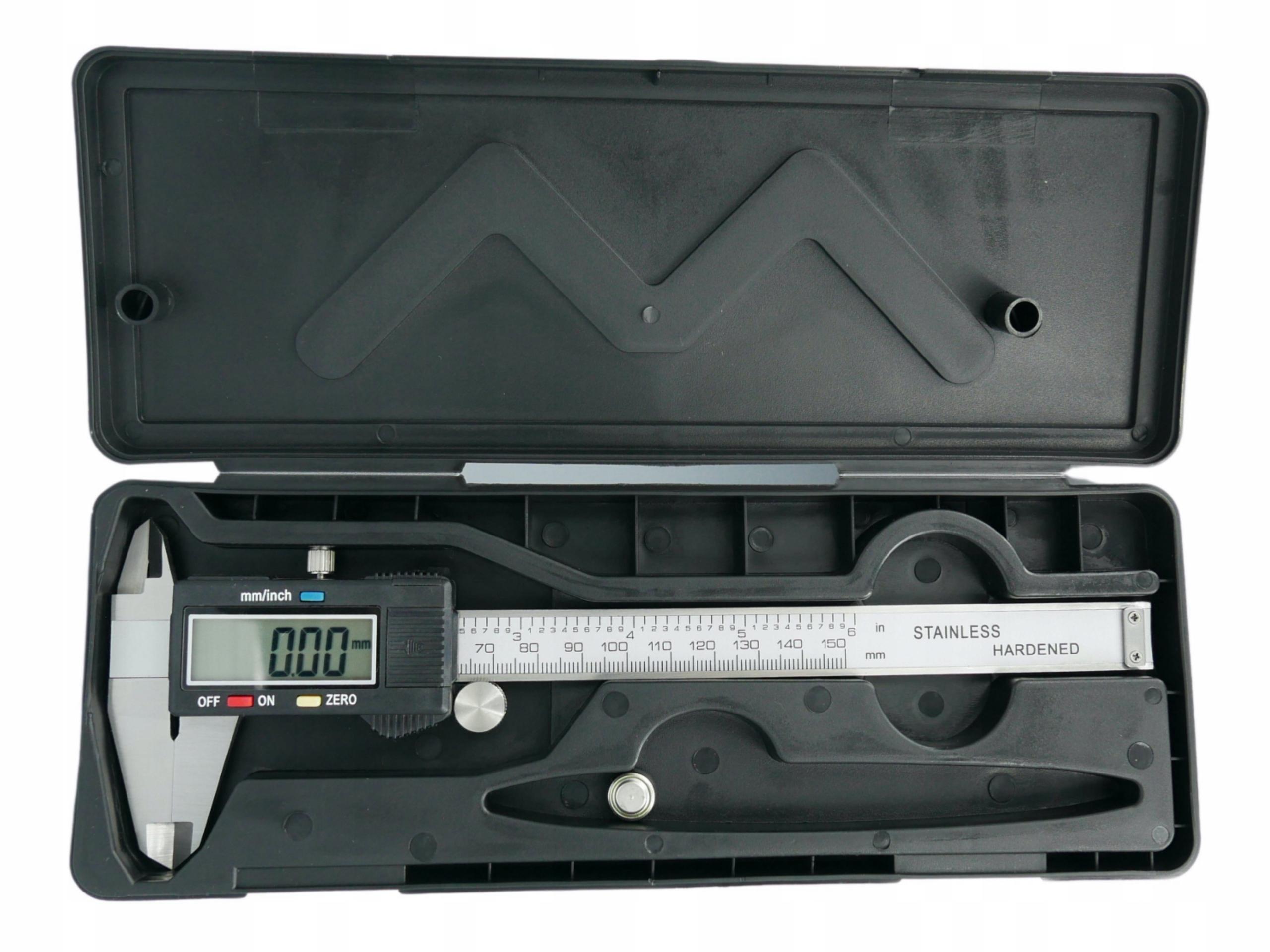 SUWMIARKA ELEKTRONICZNA CYFROWA L 150 mm METALOWA