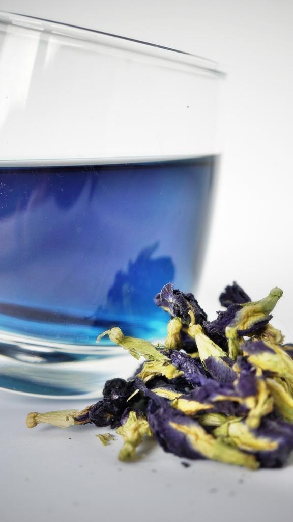 BLUE BUTTERFLY PEA TEA - голубой чай 100 г