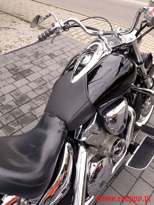 HONDA VTX 1300 retro custom TIE BELT