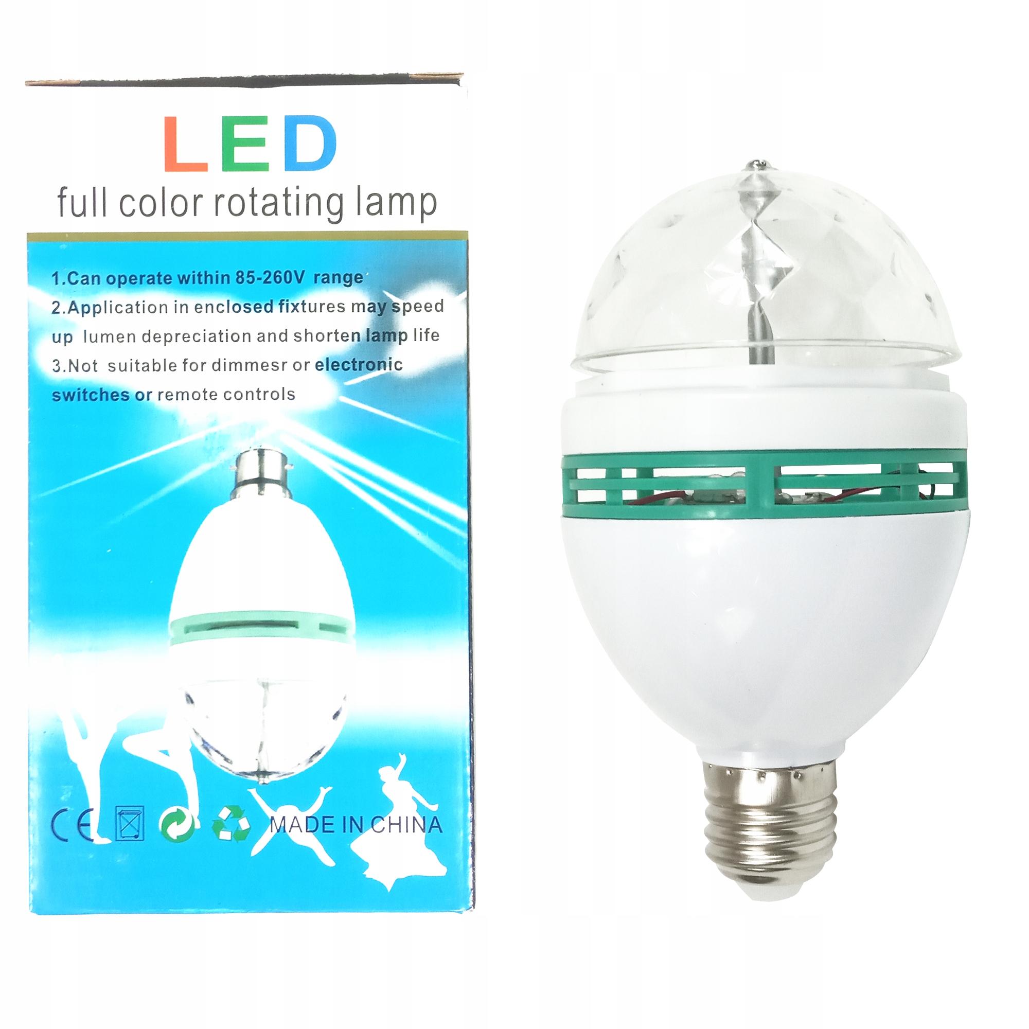 Купить LAMPA IMPREZOWA ŻARÓWKA DISCO LASER STROBOSKOP LED на Otpravka - цены и фото - доставка из Польши и стран Европы в Украину.