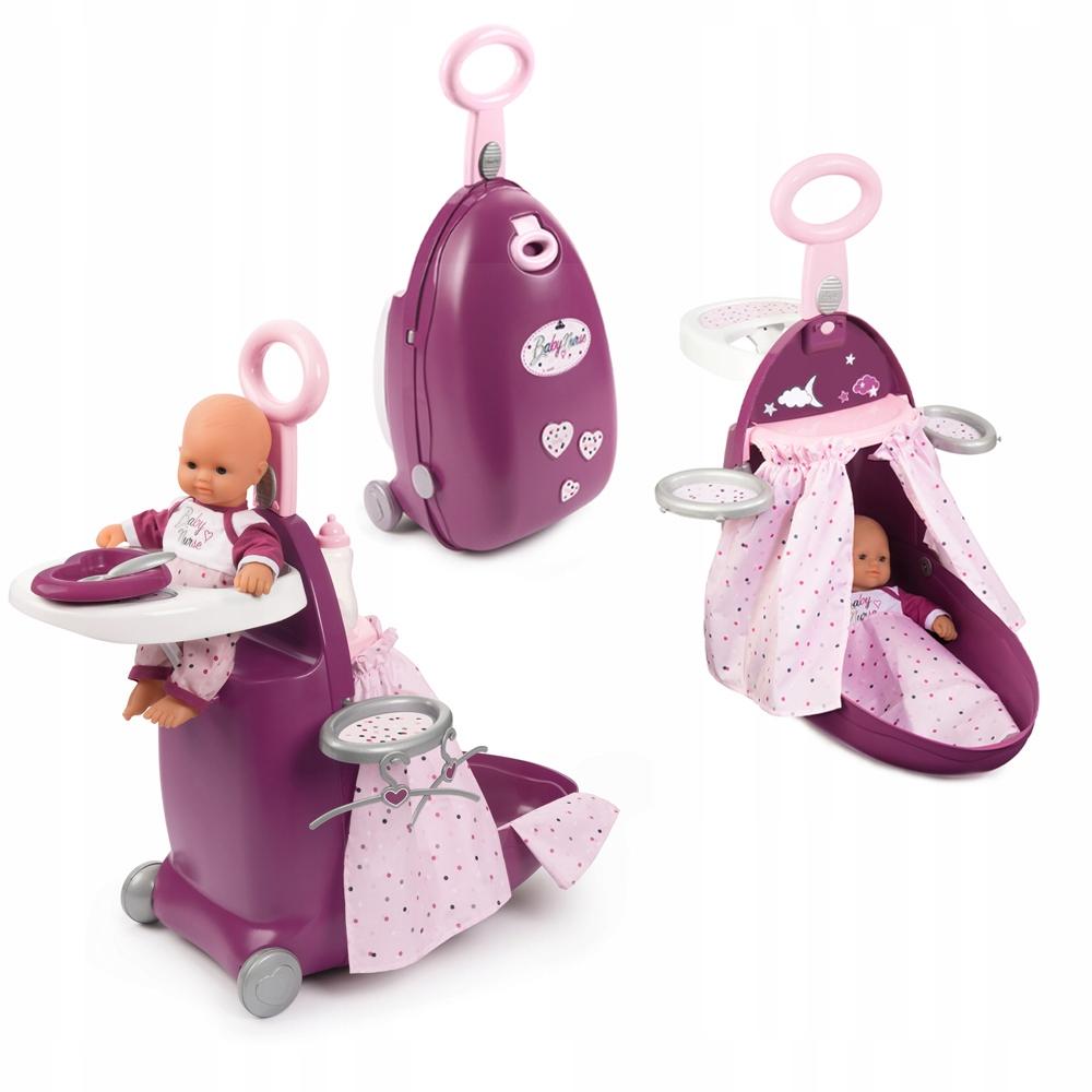 SMOBY BABY NURSE Babysitter's Suitcase 3v1 COT