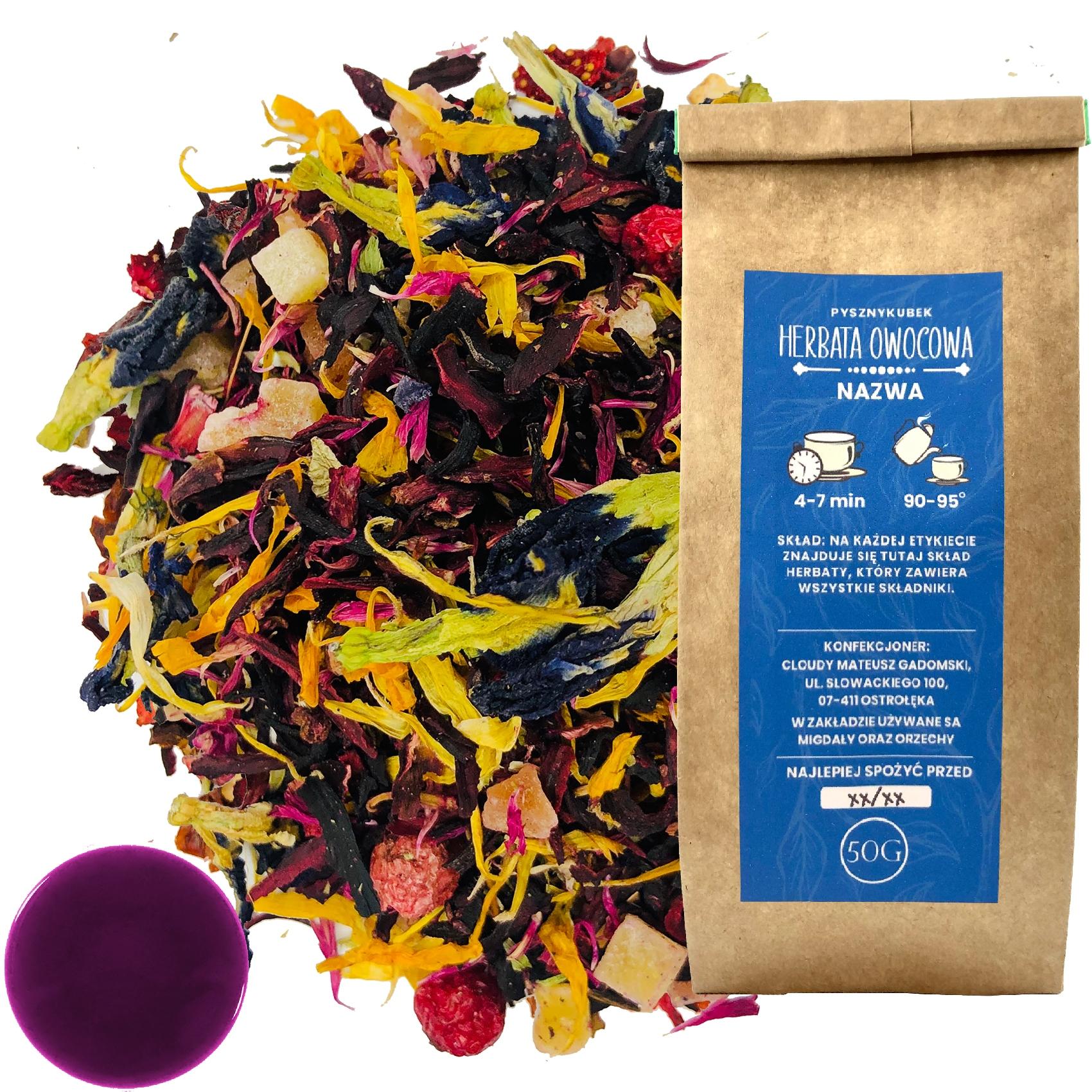 Чай фруктовый PURPLE DREAM 50G CLITORY