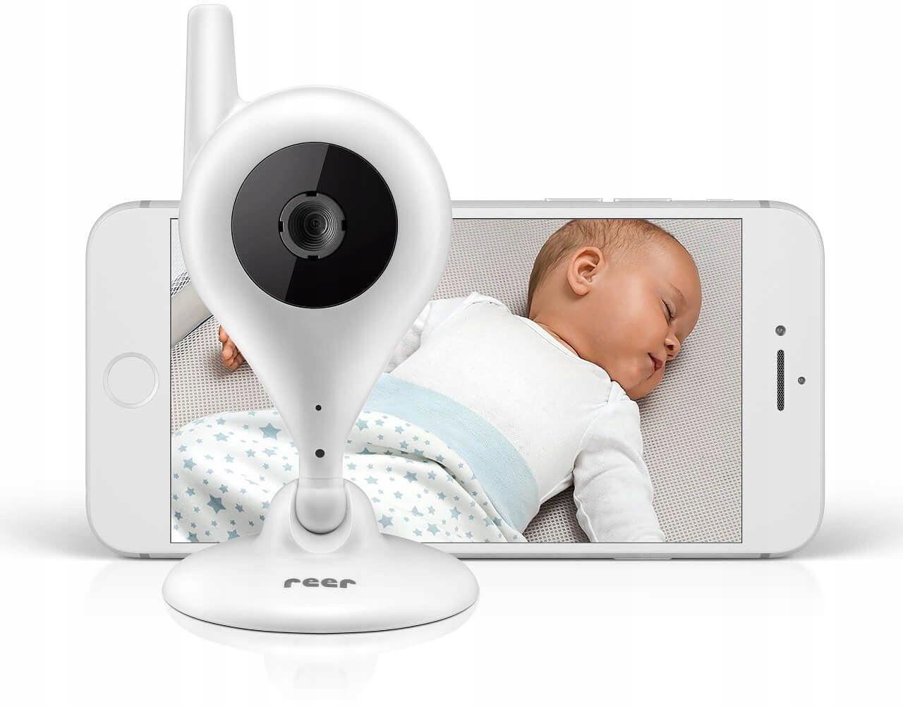 Niania Elektroniczna Kamera Wi-fi Ip Babycam Reer