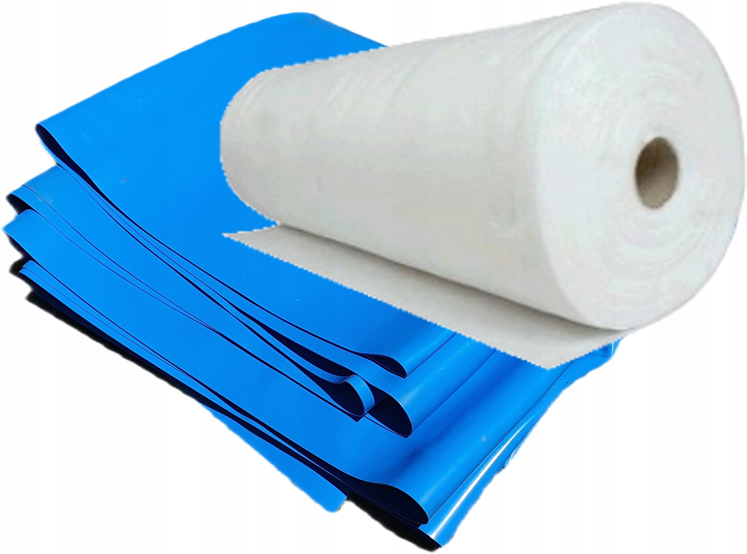 Фольга синяя для пруда 1мм + гео