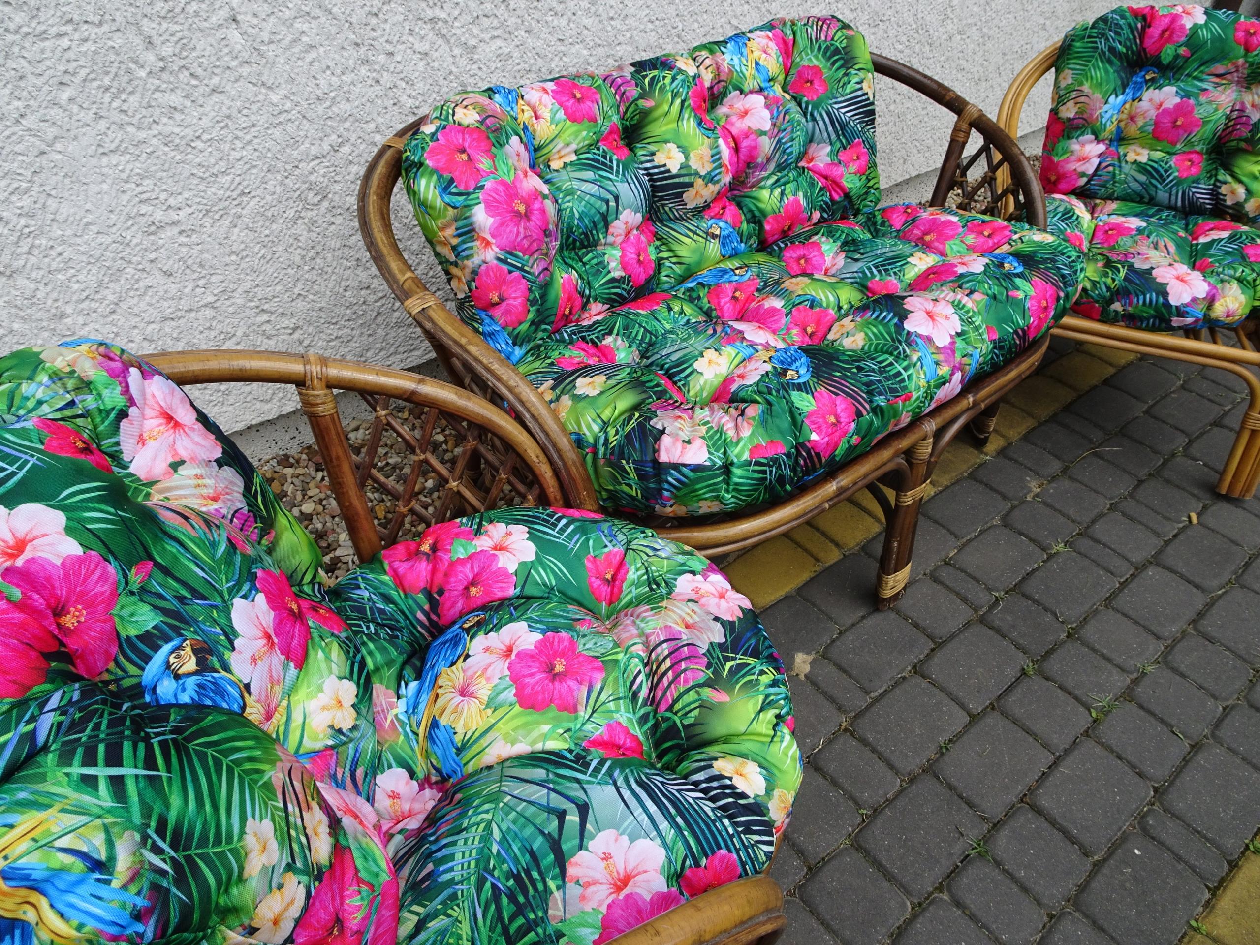 Подушки для мебели из ротанга. ВОДОНЕПРОНИЦАЕМЫЙ Мадагаск