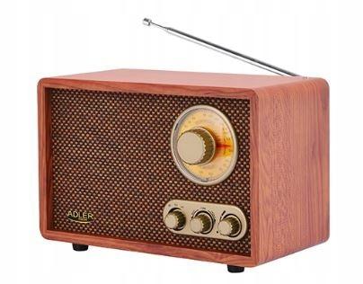 Rádio ADLER AD1171 RETRO bluetooth [T]