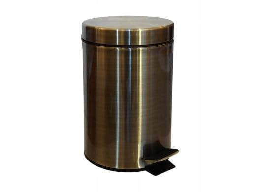 BEMETA 104315023 RETRO bronzový odpadkový kôš 3L