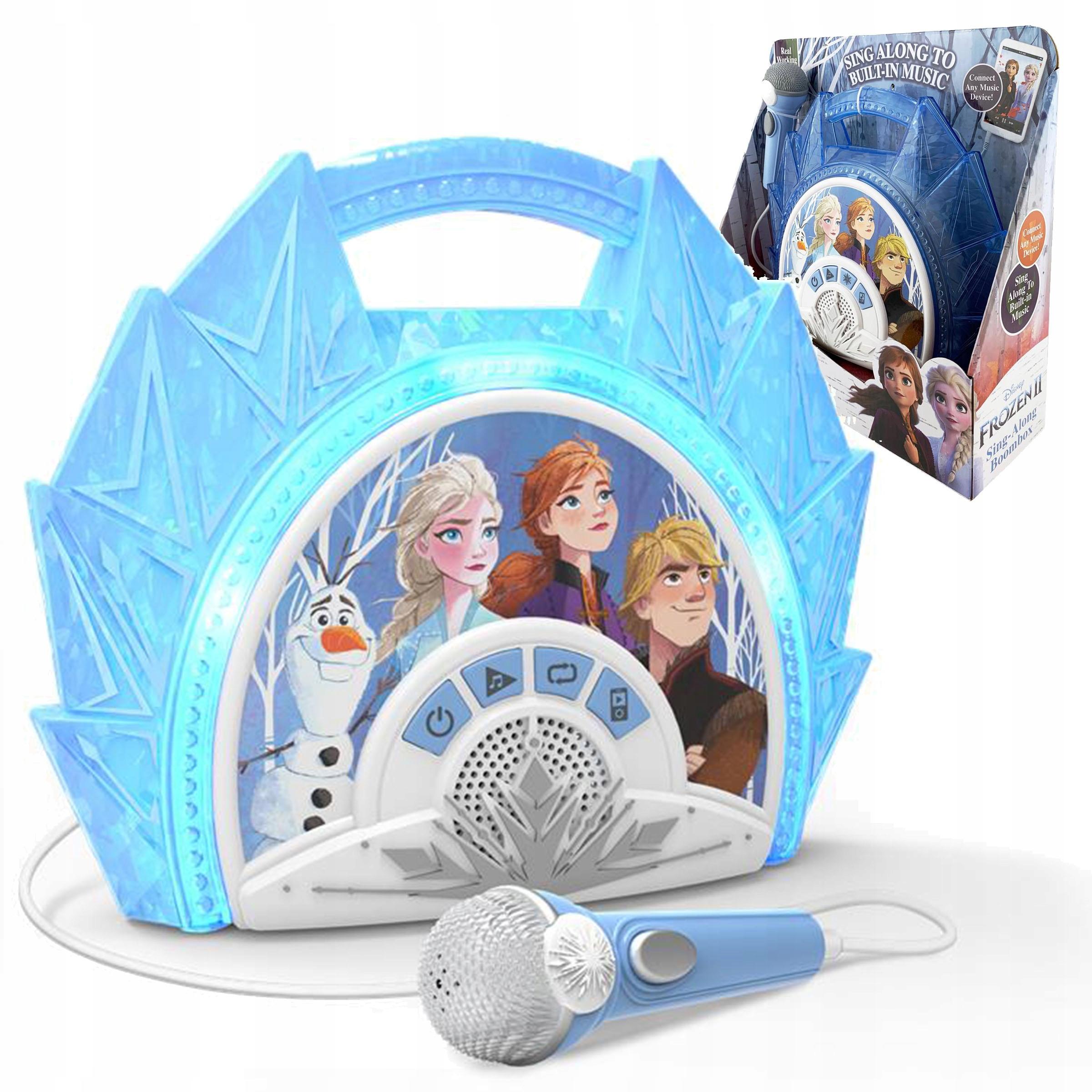 EKIDS Karaoke s mikrofónom Frozen 2 FROZEN II
