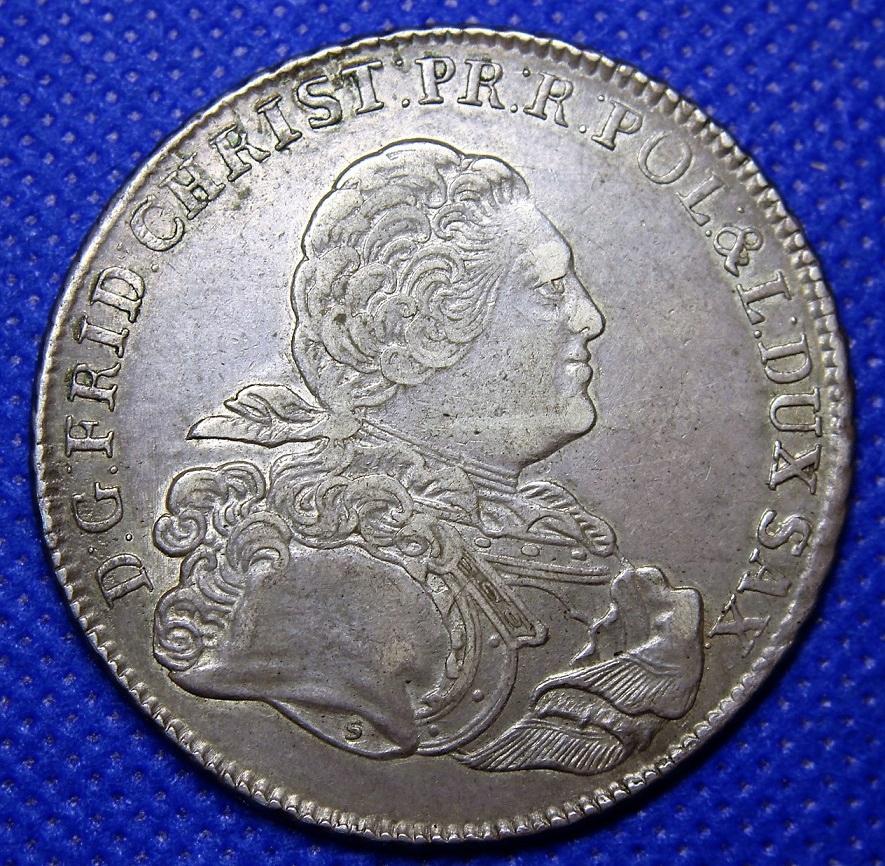 Sasko Fryderyk Krystien Talar 1763 Ifôf Krásny