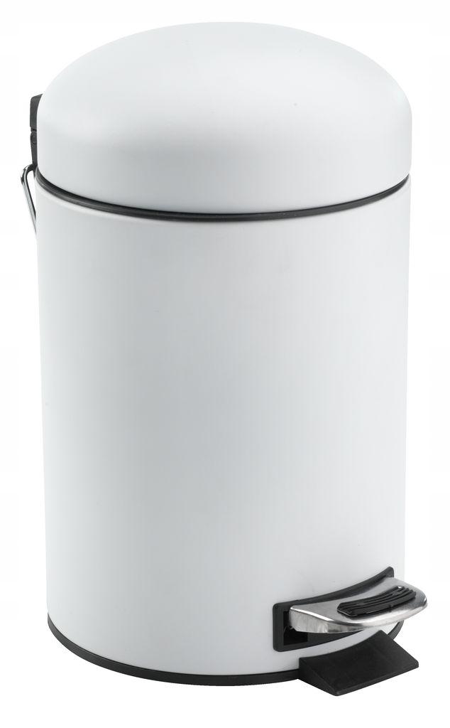 Odpadkový kôš 3 l White Foot do kúpeľňovej kancelárie