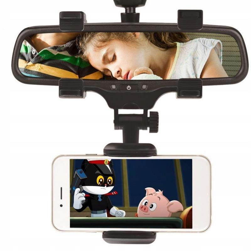 держатель на телефон на зеркало заднего вида автомобиля