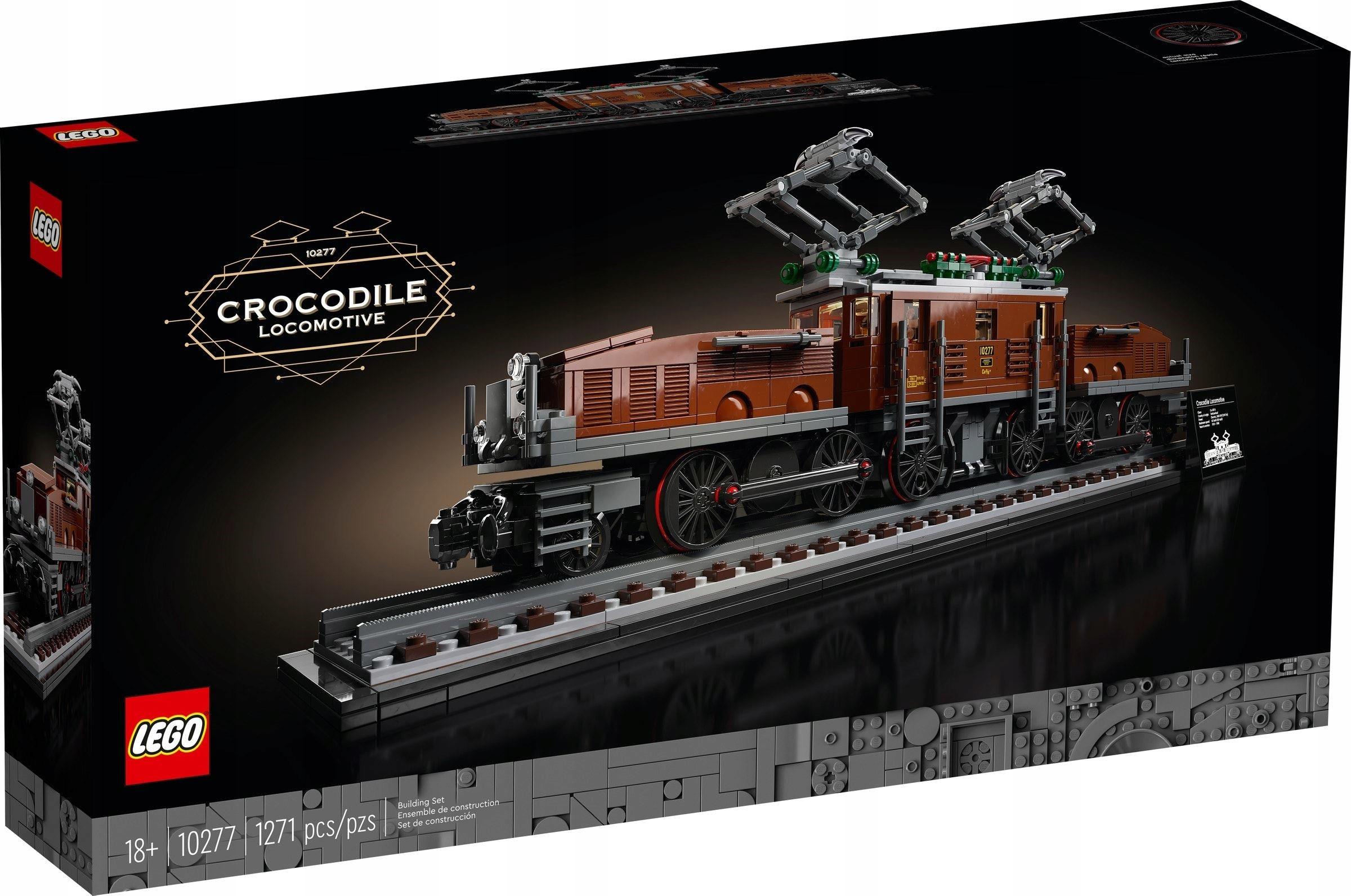 LEGO CREATOR Lokomotywa Crocodile 10277