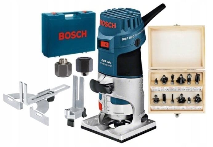 Frezarka krawędziowa Bosch GKF600 060160A100 Frezy