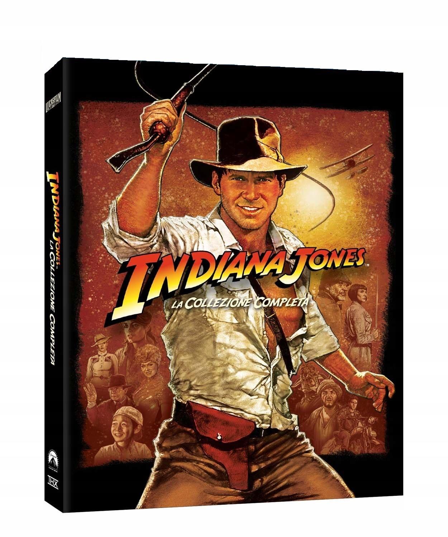 Item INDIANA JONES 1-2-3-4 Set [5xBlu-ray] ____ 24