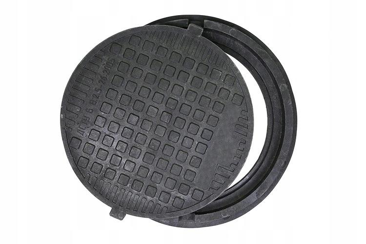 круглый люк Крышка для колодцы септики 75 см