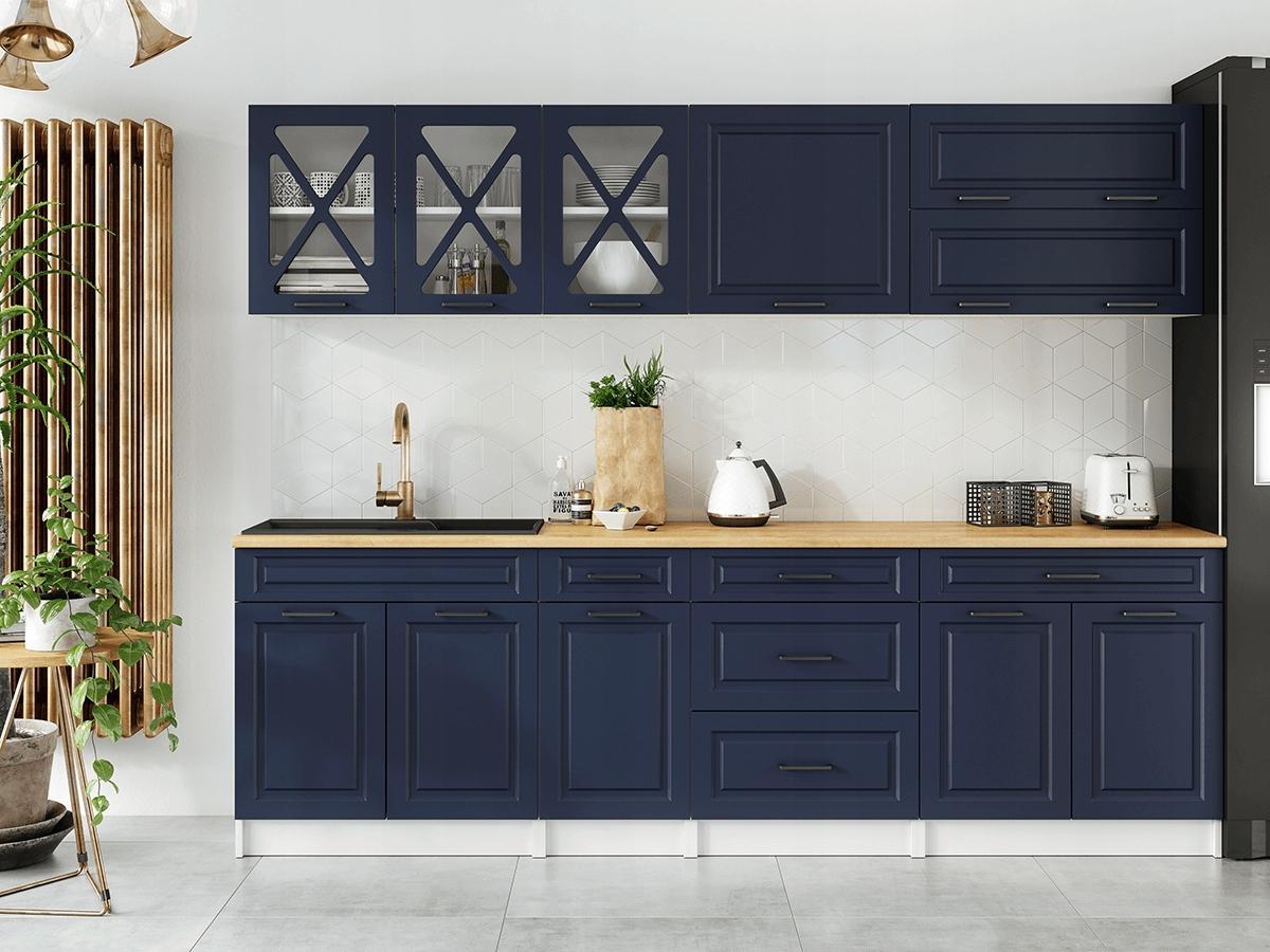Kuchnia szafki kuchenne TURID 2,6m 260 cm mat mdf