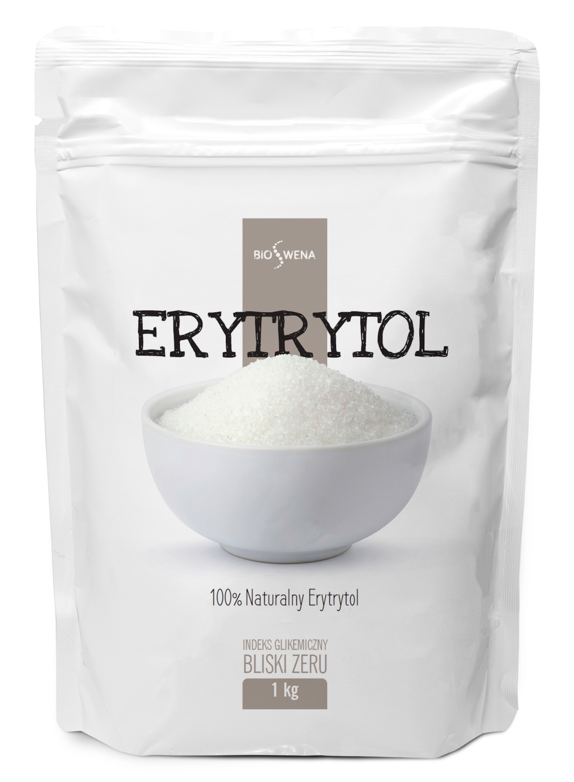 ERYTRYTOL 1kg / SŁODZIK NATURALNY,ERYTROL, 0kcal