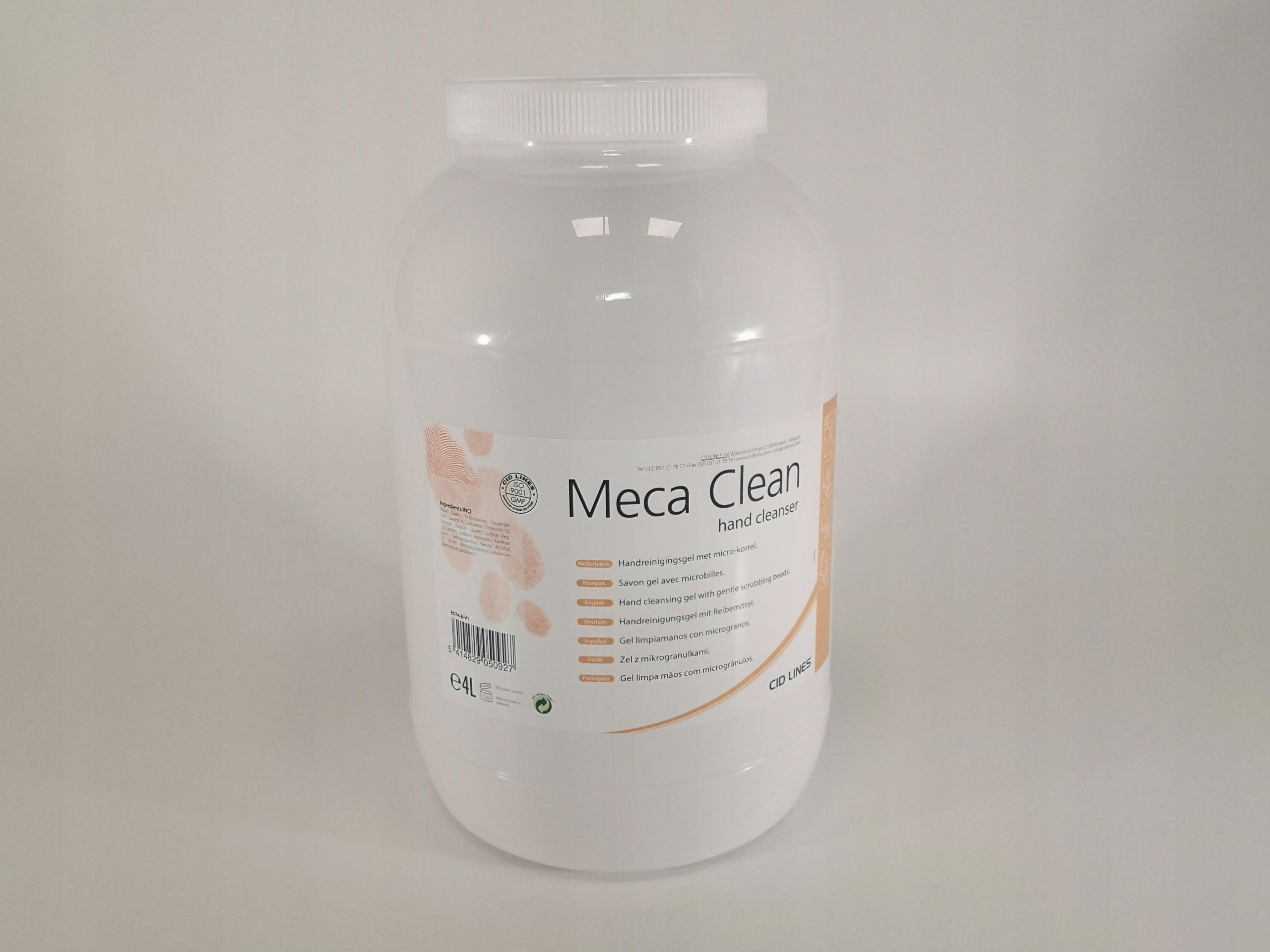 Paste BHP Gel Мыло для рук Meca Clean 4L