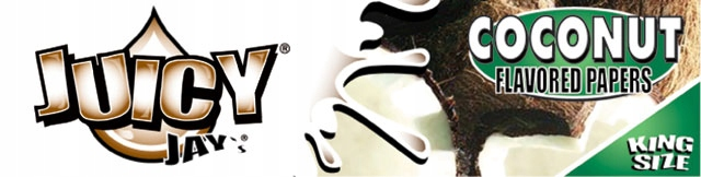 Папиросная бумага Juicy Jays King Size Coconut
