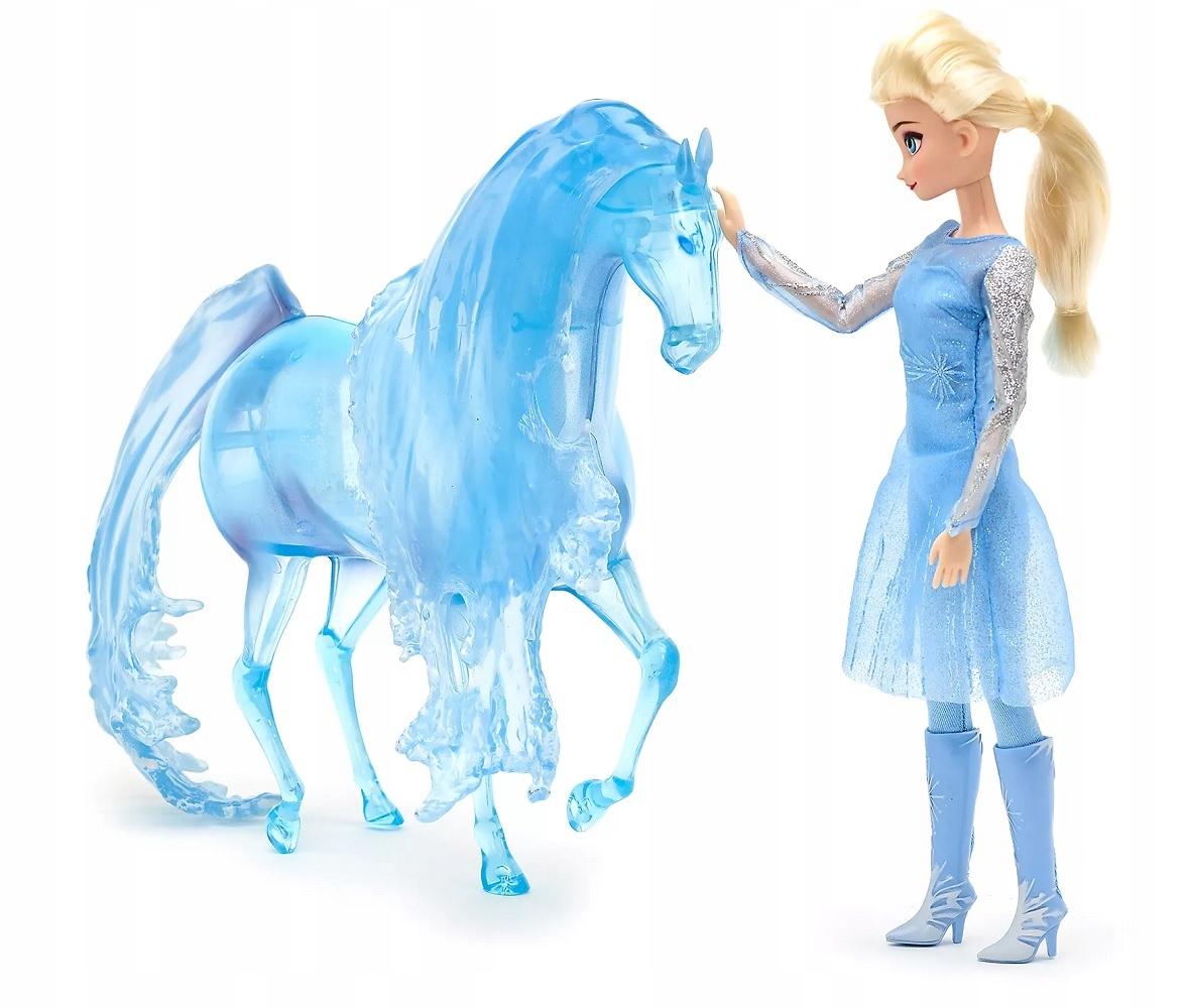 Bábika ELSA 30 cm + kôň Nokk Disney Store Frozen 2