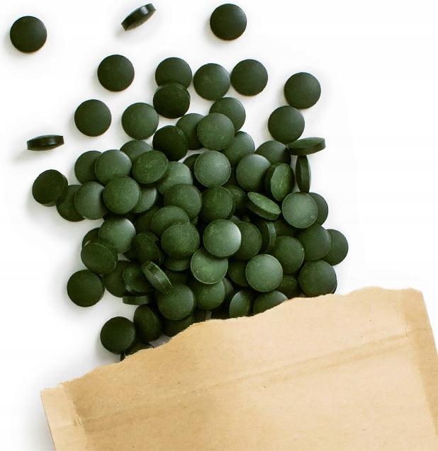 Spirulina + chlorella 2 x 250g tabletki