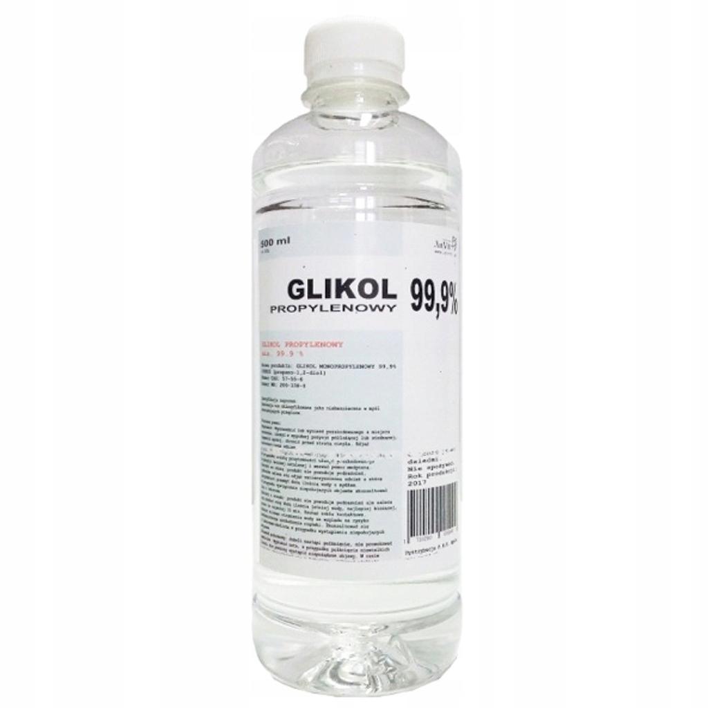 GLIKOL PROPYLENOWY MIN. 99,9% - 500ML