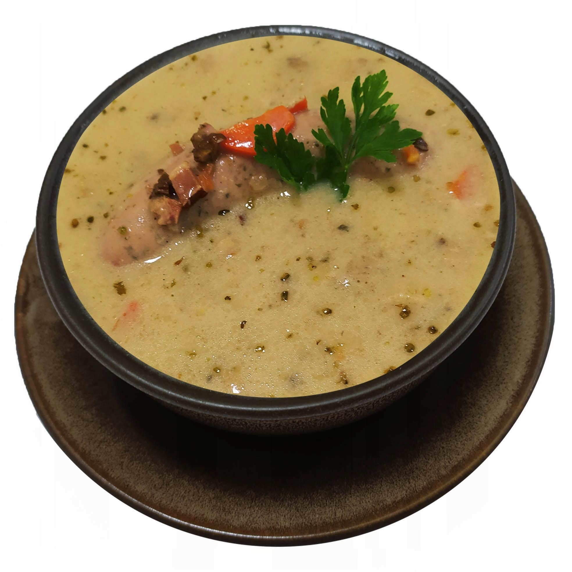 Суп ржаной с белой колбасой на закваске 0,9 л