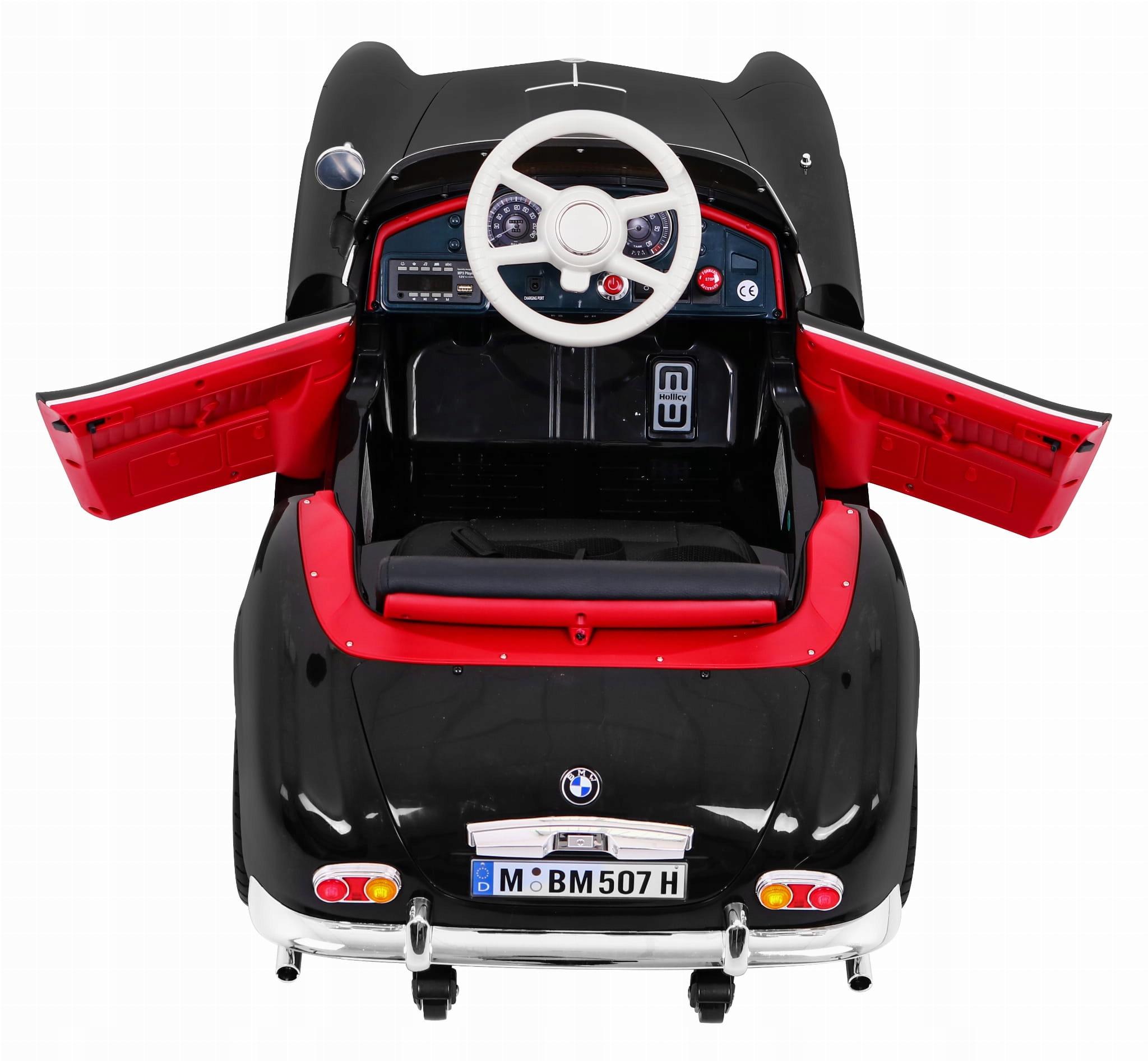 BMW 507 Retro Black CAR na BATÉRII
