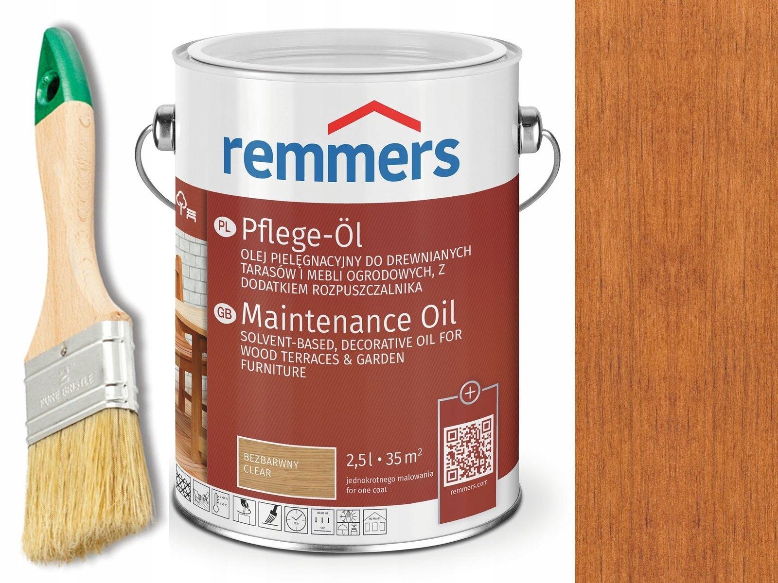 Remmers Pflege-Ol Масло для ТЕРРАС Тик 0,75 Л