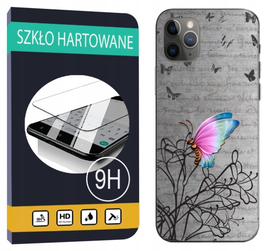300 wzorów Etui + Szkło do Iphone 11 Pro Pokrowiec