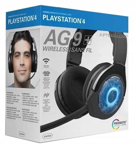 Наушники для PS4 wireless Afterglow AG9 PDP