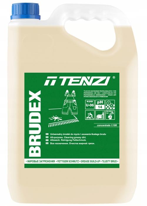 TENZI BRUDEX 5L Для мытья и удаления жирных загрязнений