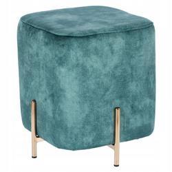 Pufa siedzisko do siedzenia Izbit Velvet niebieska