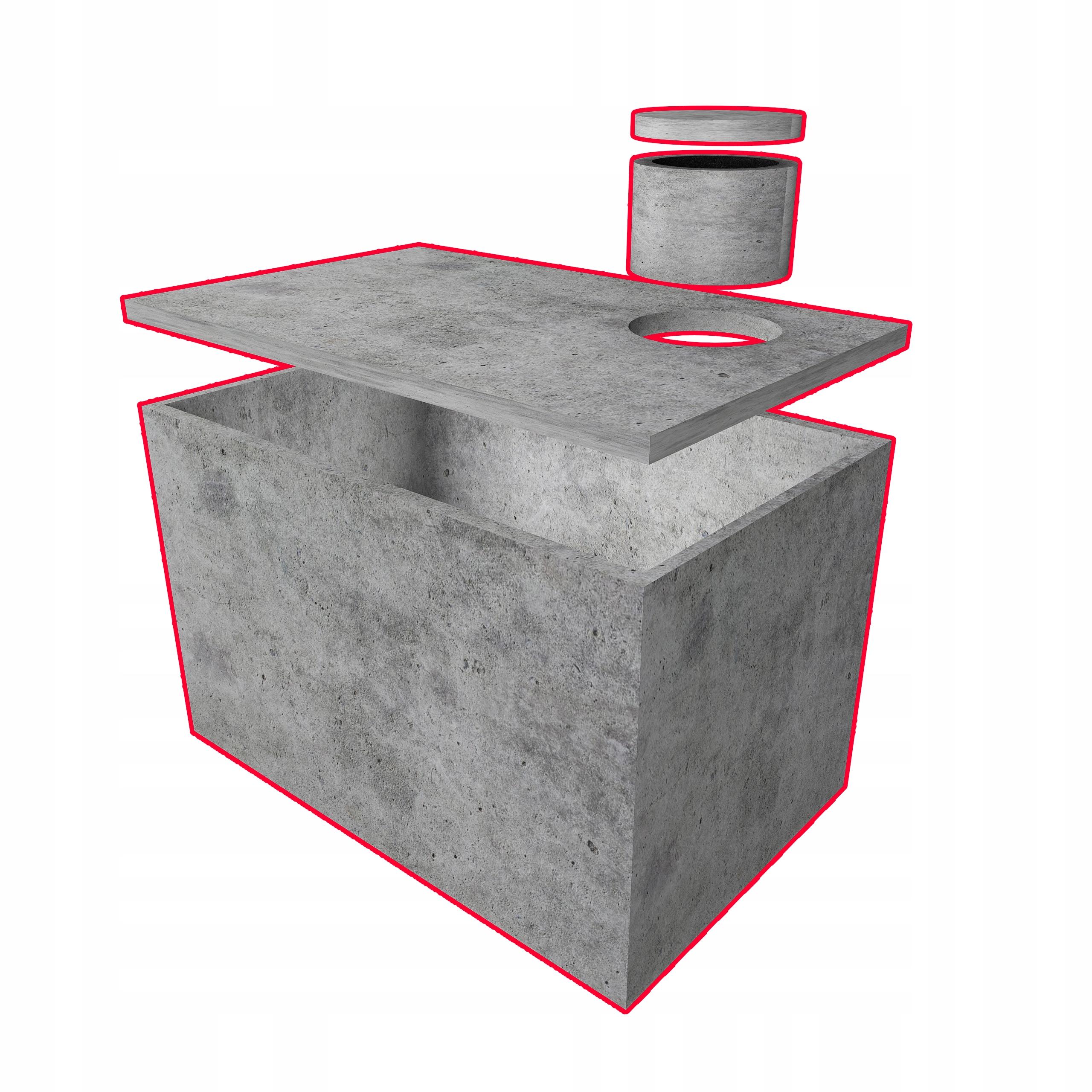 бетонный резервуар для дождевой воды септик для воды септик