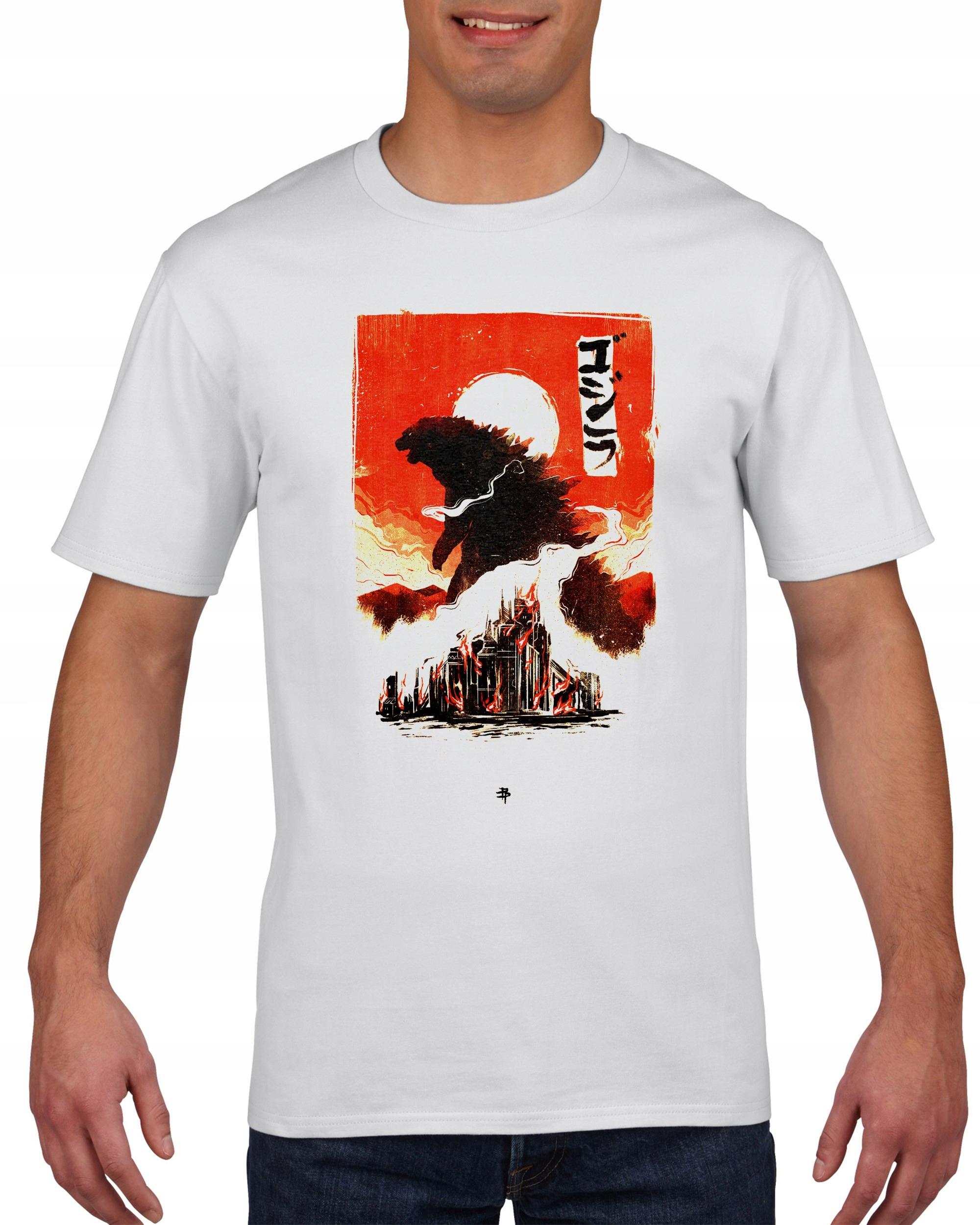 Koszulka męska Godzilla M