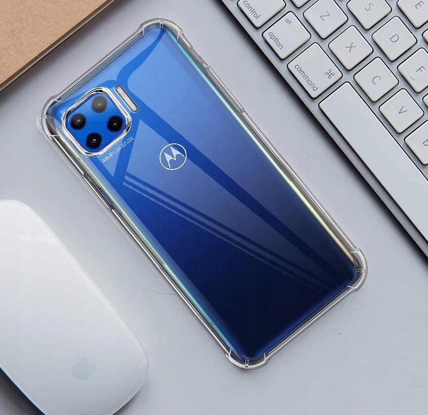 Etui do Motorola Moto G 5G Plus ANTI-SHOCK + Szkło Materiał tworzywo sztuczne