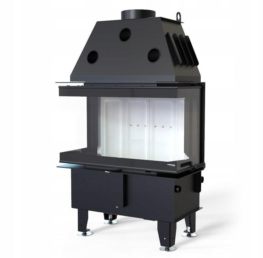 3 sklenené vložky Defro Home INTRA SM C G 10 kW ECO