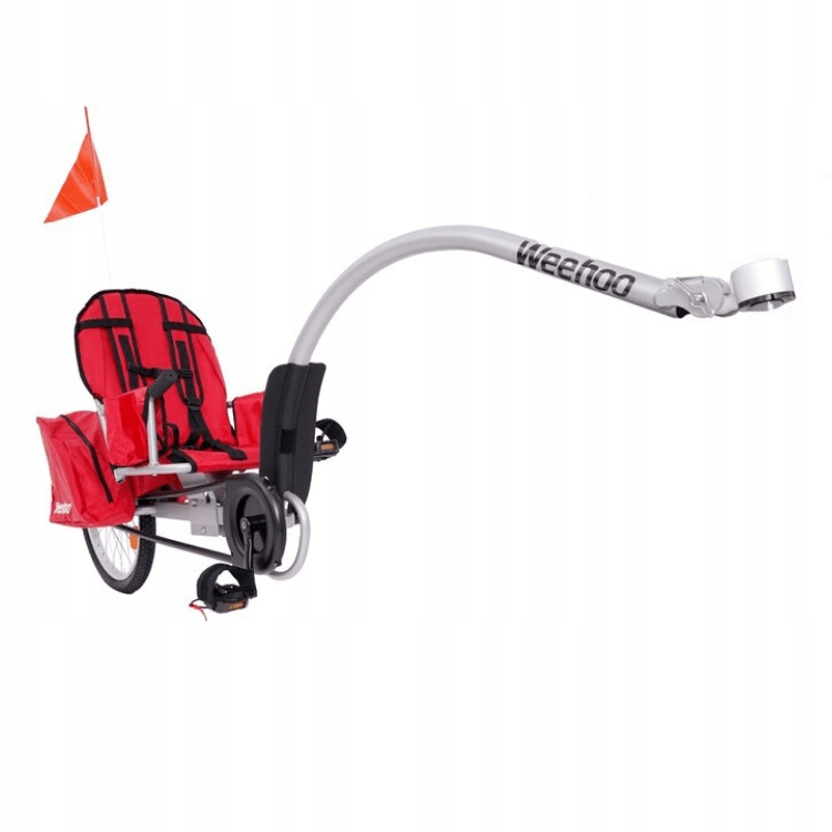 Przyczepka rowerowa dla 1 dziecka Weehoo Igo Turbo EAN 0730699390778