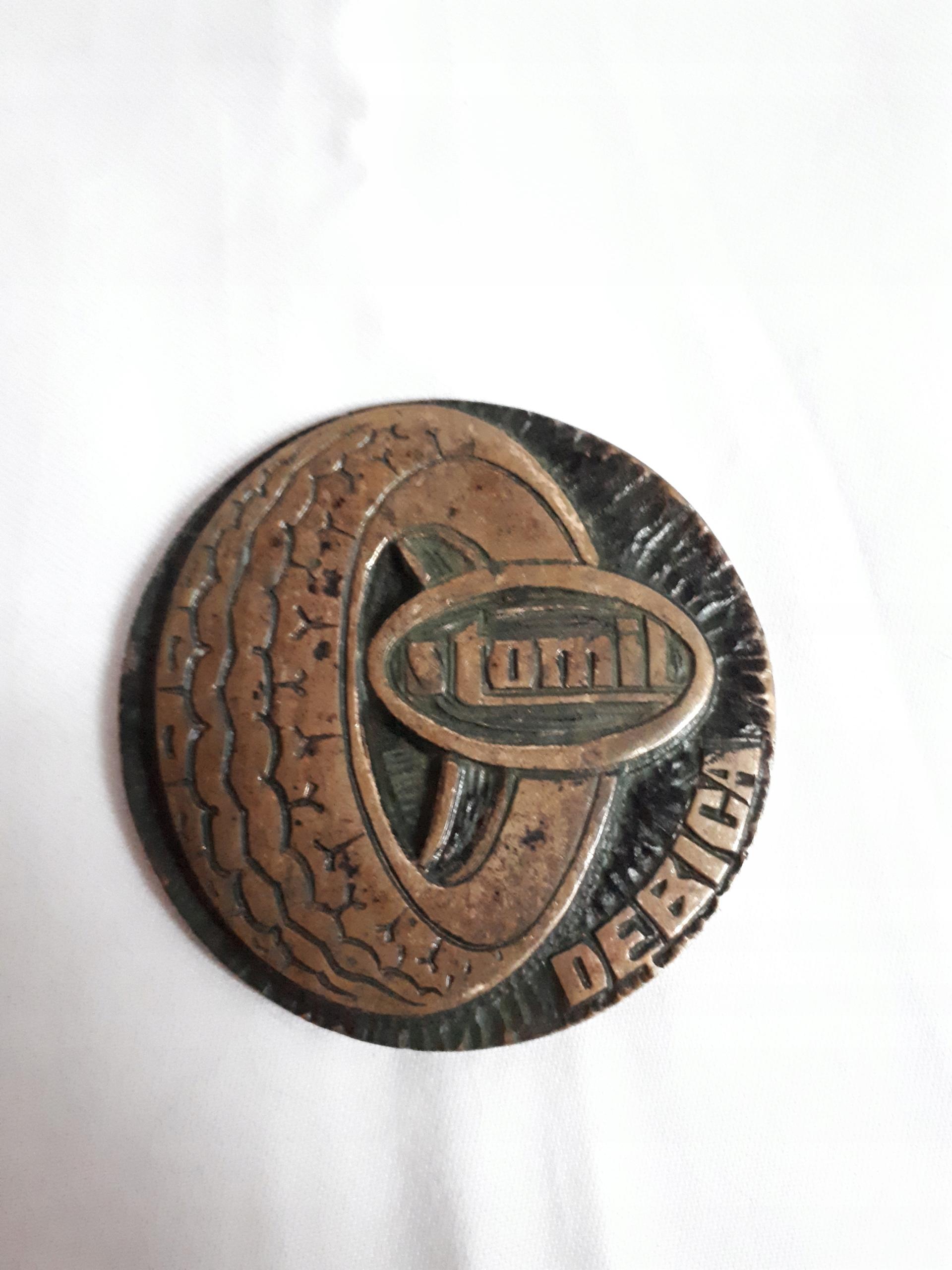 Medal Stomil Dębica PRL 1977 opony radialne