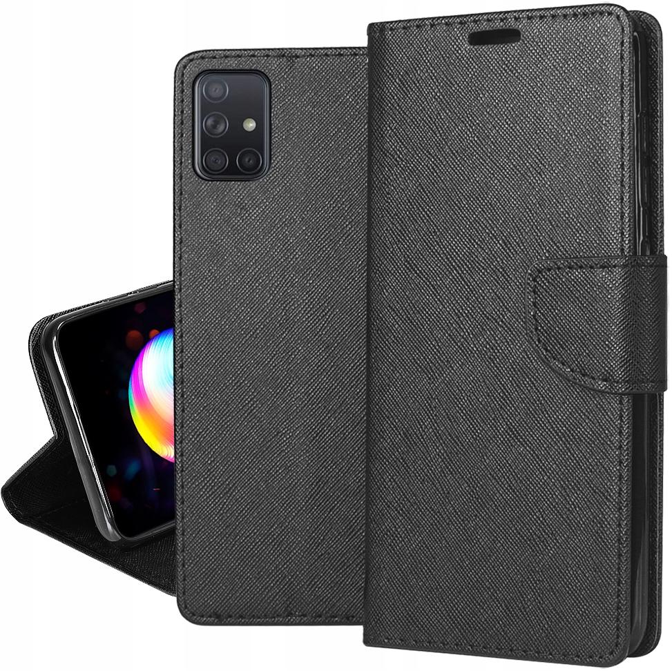ETUI do Samsung Galaxy M51 Fancy Case + SZKŁO 9H