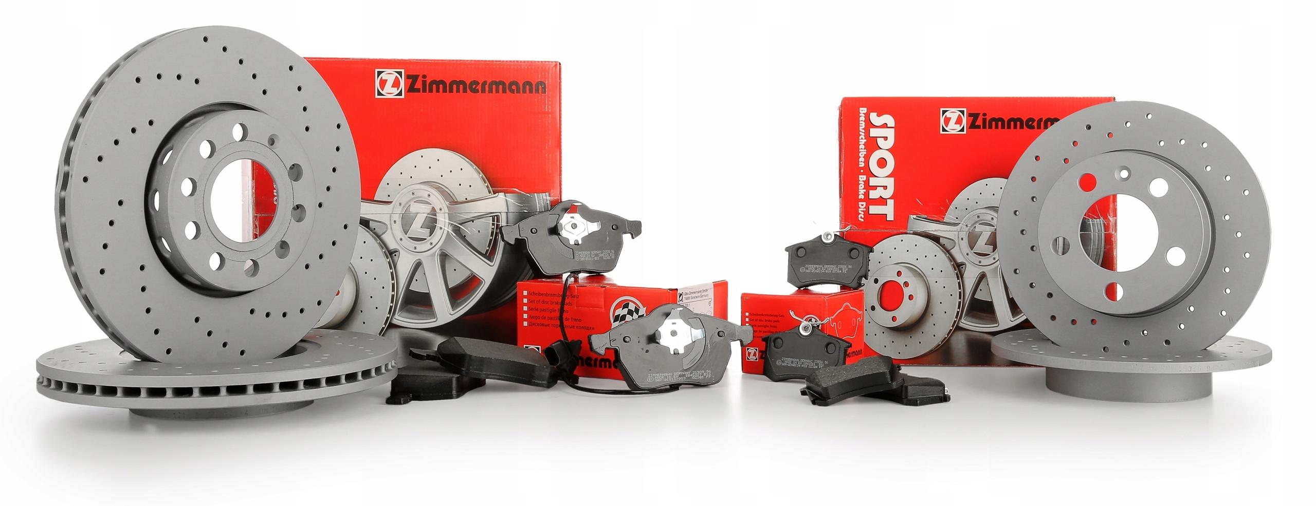 диски колодки zimmermann спорт p+t audi a6 c6 347m